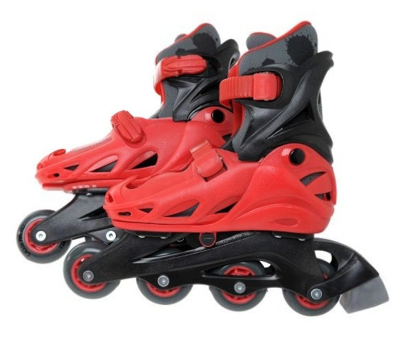 Cosmic Skate and Protection Set Red/Black - 35,5-39